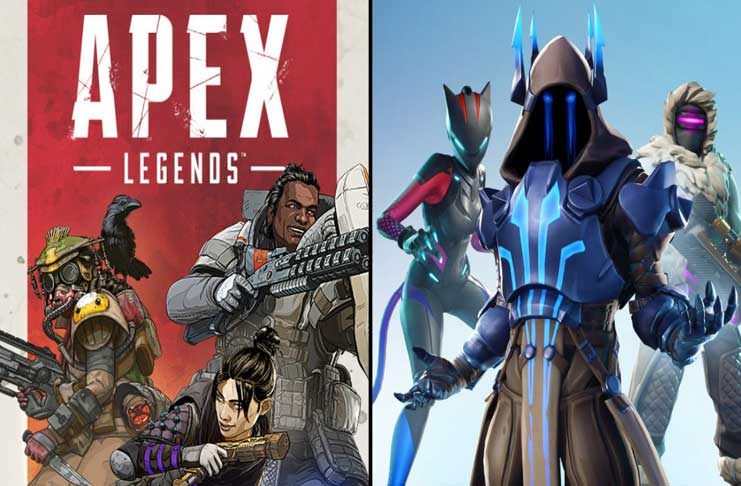 apex legends versus Fortnite