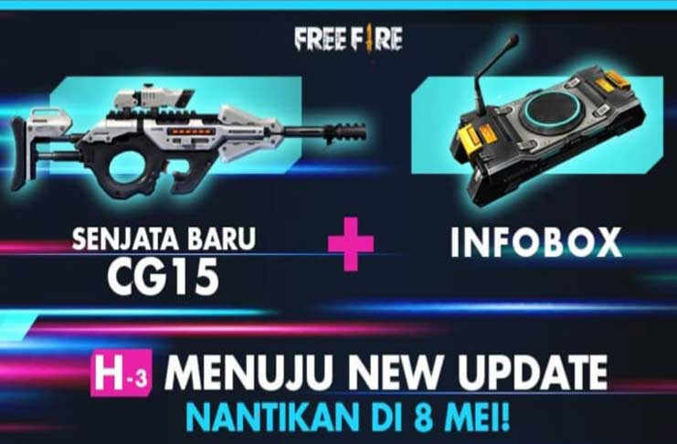 update free fire mei 2019
