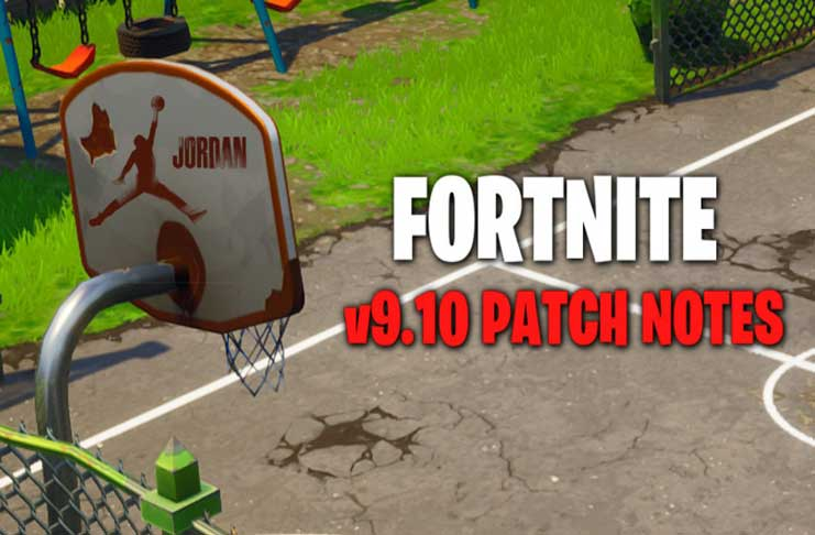 update fortnite v9.10 audio