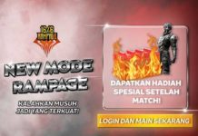 mode rampage free fire ff