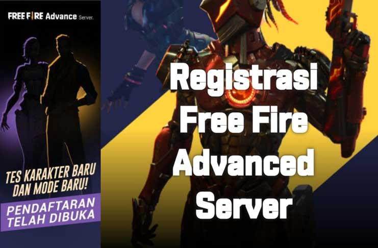 cara daftar advance server Free Fire