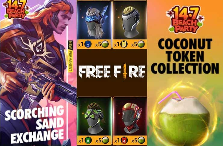 coconut water token free fire