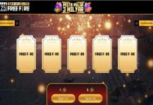 event anniversary free fire