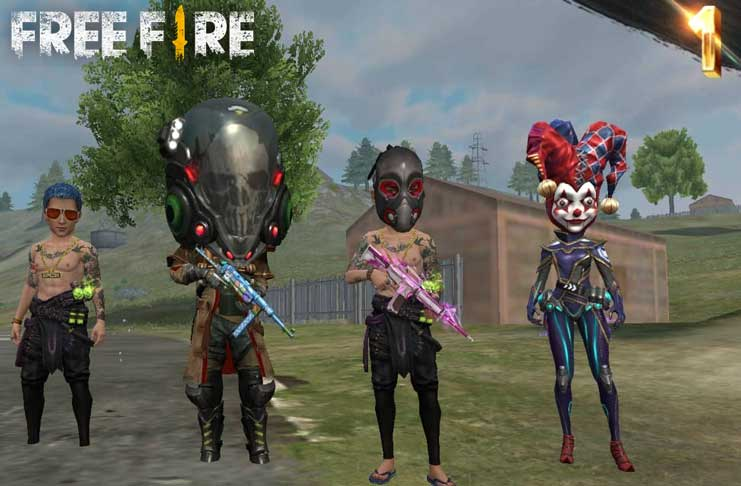 mode big head free fire