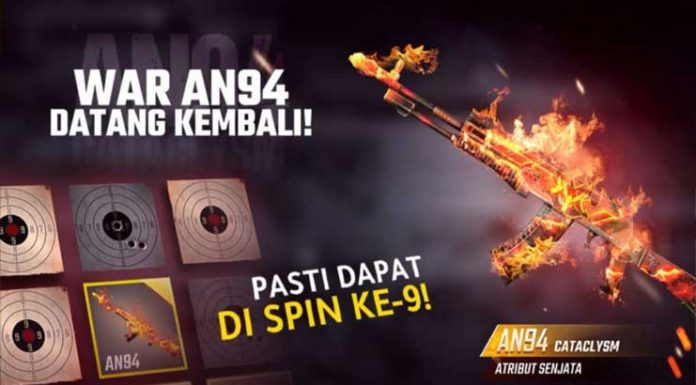 event war an94 free fire