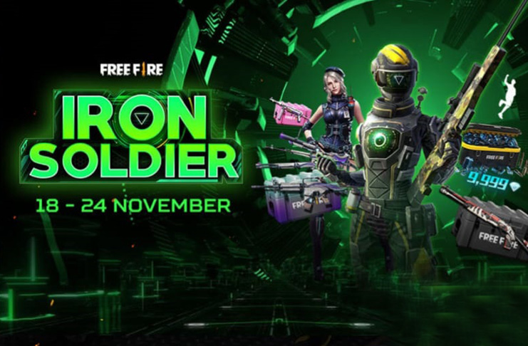 Event Iron Soldier Free Fire